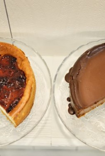 Deliciosas tartas de queso y chocolate