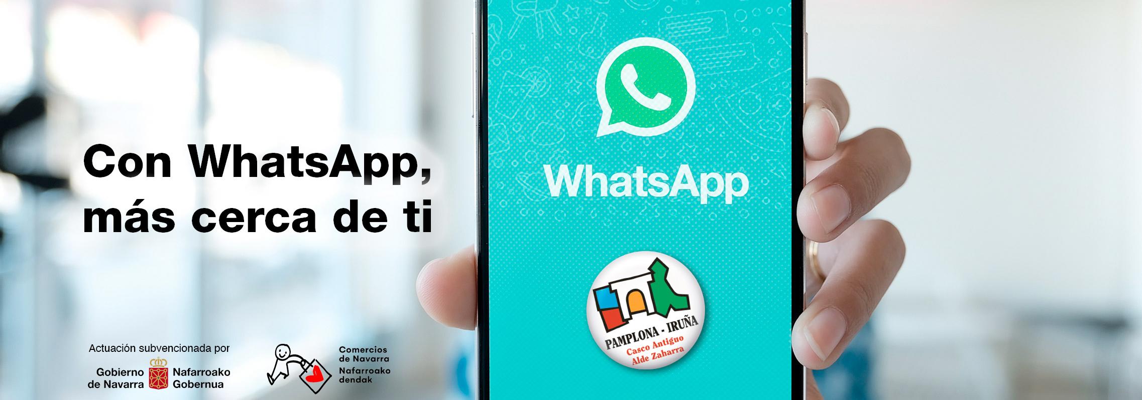 Con WhatsApp los establecimientos del Casco Antiguo están más cerca de ti